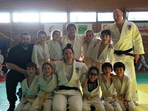 Un très beau souvenir pour les judokas gageois.