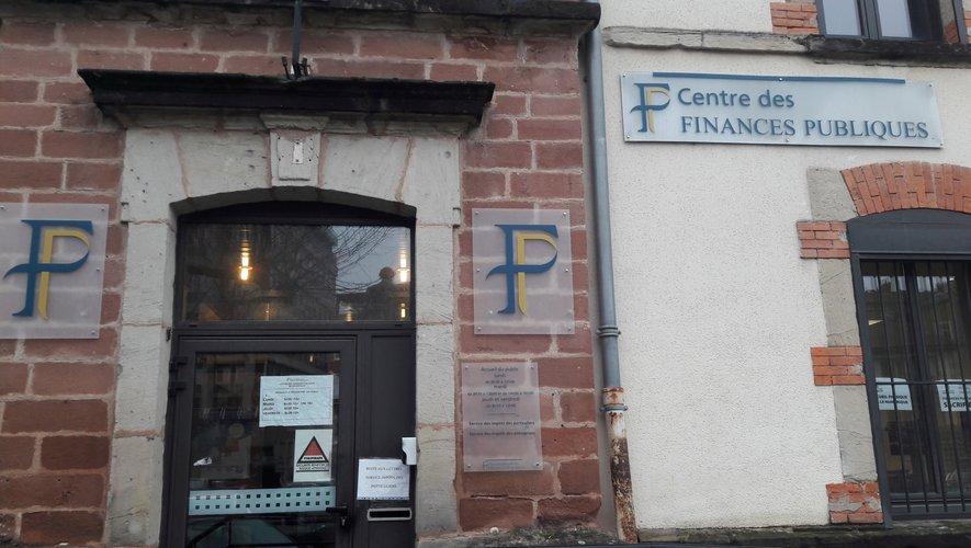 Le centre des finances publiques.