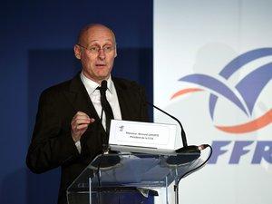 Bernard Laporte est président de la fédération française de rugby.