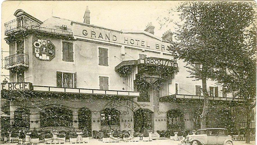 Le « Grand Hôtel Broussy » (à partir de 1930).