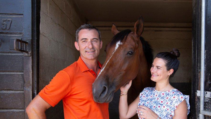 Benoit Capdebarthes et Marie de Pellegars ou le cheval pour passion !