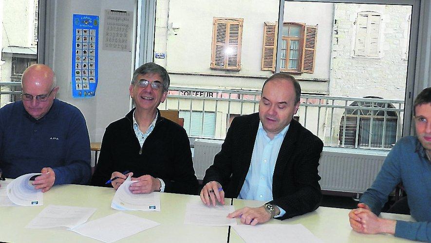 Le contrat de projet pour la période 2020-2023 a été signé hier.