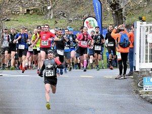300 coureurs ont pris part au trail des Ruthènes 2020, largement remodelé.