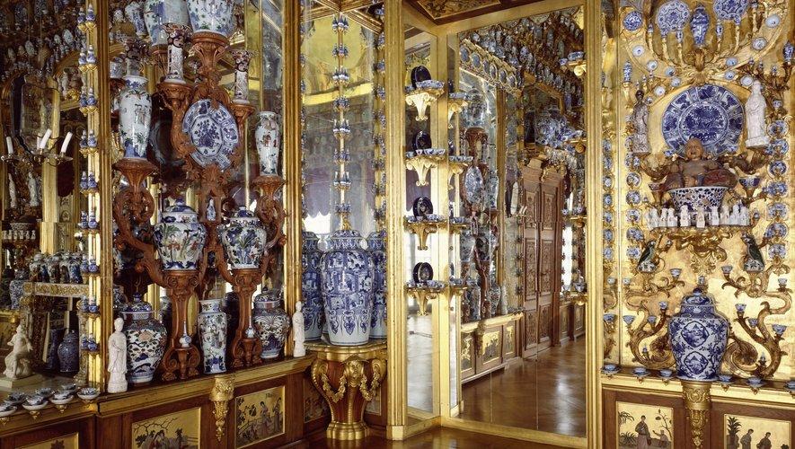 Porcelain Cabinet at Charlottenburg Palace, Berlin Prussian Palaces and Gardens Foundation Berlin - Brandenburg