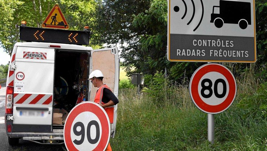 Les panneaux vont, à nouveau, être changés sur certaines portions de routes.