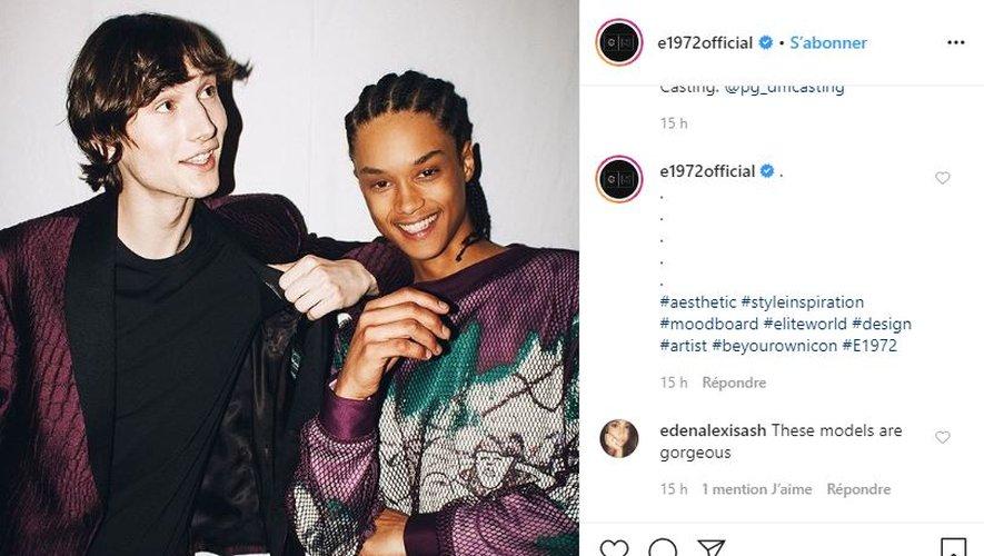 Le réseau d'agences de mannequins Elite World Group s'est offert une vitrine de choix, la Fashion Week de New York, pour le lancement de sa marque de prêt-à-porter de luxe e1972