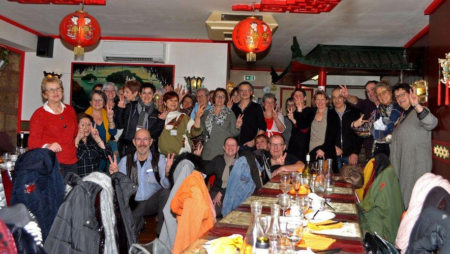 Une ambiance festive pour célébrerle Nouvel an chinois.
