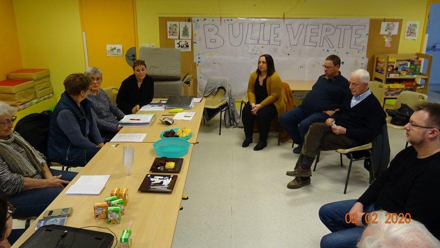 Naucelle Gare Animation s'est réunidans les locaux de La Bulle Verte.