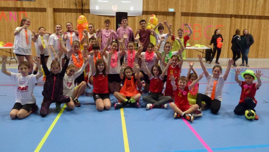 Les équipes de jeunes ont précédé les seniors pour ce tournoi.
