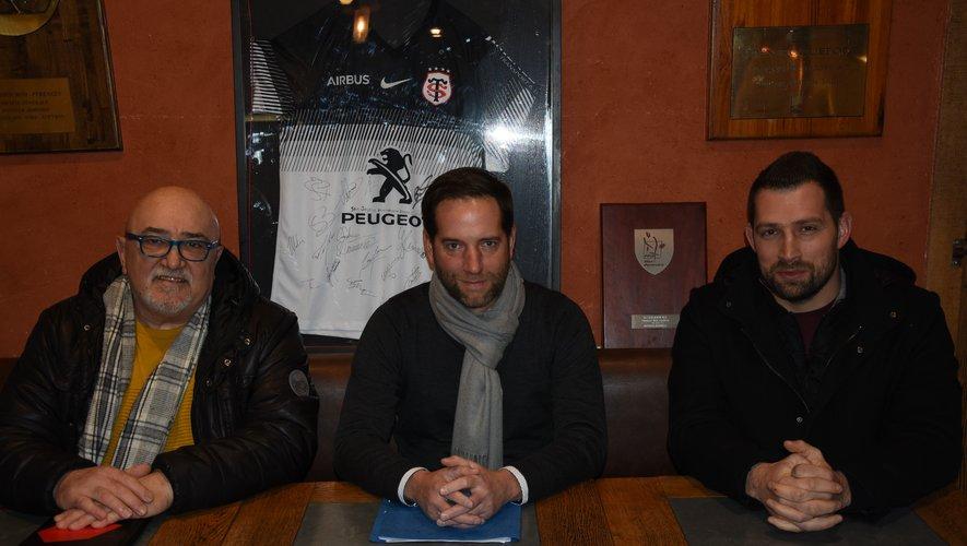 Gérard Roquefort,  Jean-Philippe Ginisty, Yannick  Véron, un trio très complémentaire.