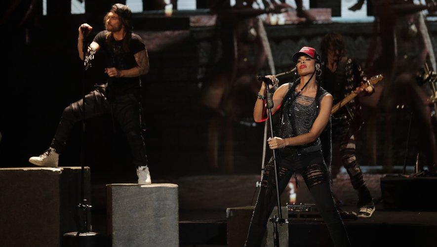 Le groupe Shaka Ponk lors de la 34e cérémonie des Victoires de la Musique