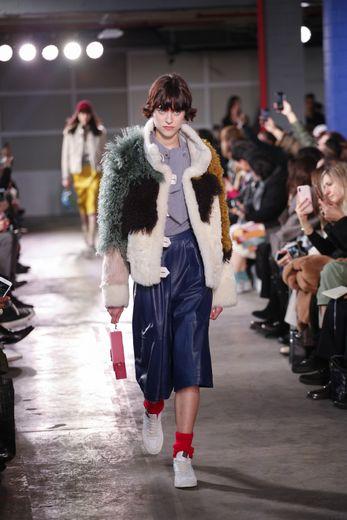 Si certains pensaient que le streetwear était mort, Coach prouve le contraire avec une collection plus urbaine que jamais. New York, le 11 février 2020.