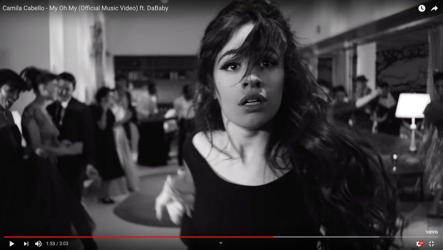 "Camila Cabello dans le clip de ""My Oh My""."