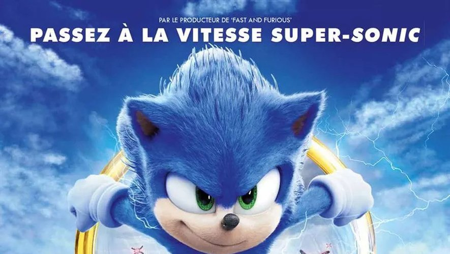 """""""Sonic, le film"""" de Jeff Fowler avec Jim Carrey et James Marsden, sortira ce vendredi 14 février aux Etats-Unis."""