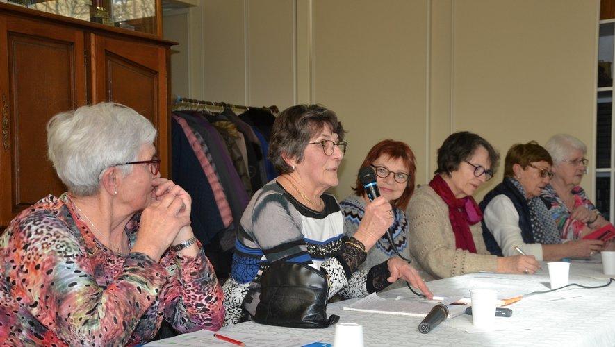 Bureau des Alertes et élues lors de l'assemblée généraledes Alertes.