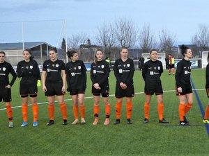 Les druelloises iront en quart de finale de la coupe d'Occitanie.