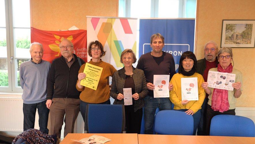 Organisateurs et partenaires se retrouvaient le 6 février à la mairie de Sébazac pour lancer l'événement.