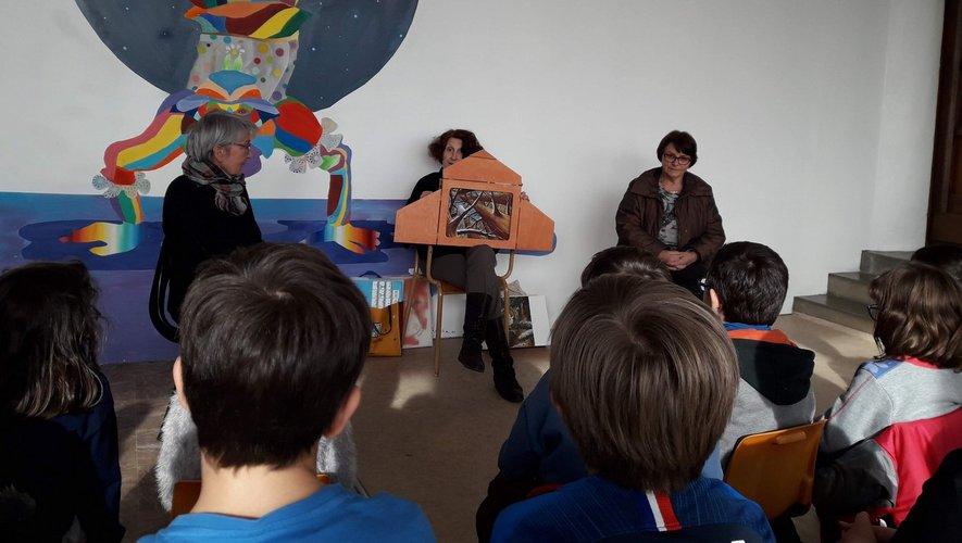 Les élèves sont très à l'écoute.