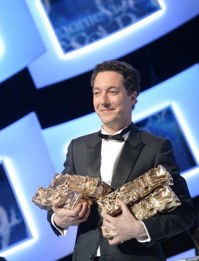 Guillaume Gallienne est la personnalité la plus titrée en une seule cérémonie (4 en 2014).