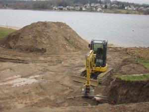 Avant de construire, il faut d'abord creuser, c'est la base !
