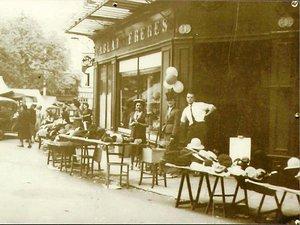 La boutique du temps des frères Cablat.