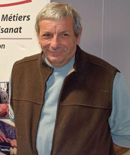 Jean-Luc Cabirou, carreleur mosaïste.