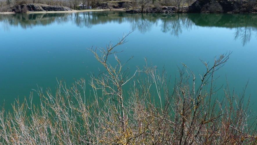 Le lac de la Cisba.