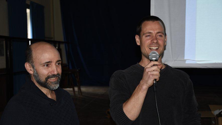 Étienne Dols et Joël Dendaletche ont animé la conférence avec talent.