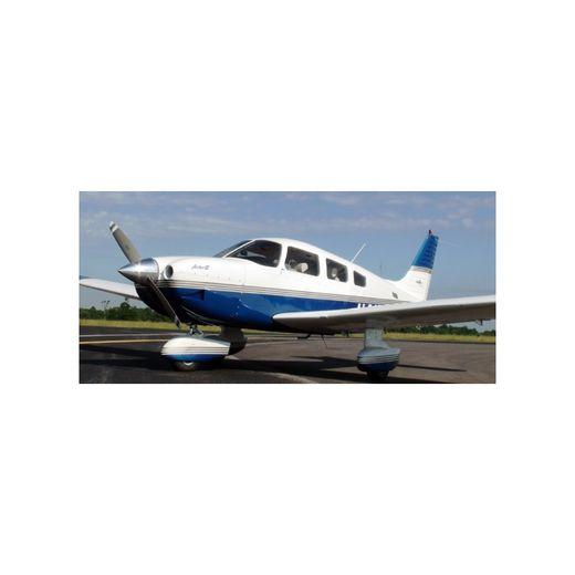 C'est un avion de type Piper PA 28 qui s'est écrasé.
