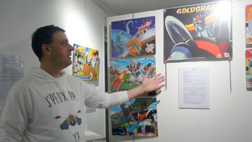 « J'peux pas, y'a Goldorak », le sweat de l'artiste qui en dit long !