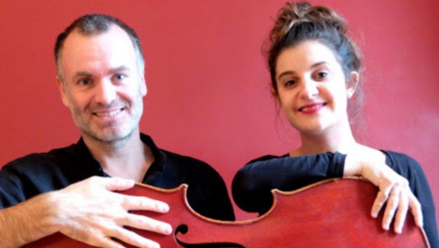 Gilles Bizouerne et Elsa Guiet seront sur la scène de l'espace Yves Roques jeudi 20 février.
