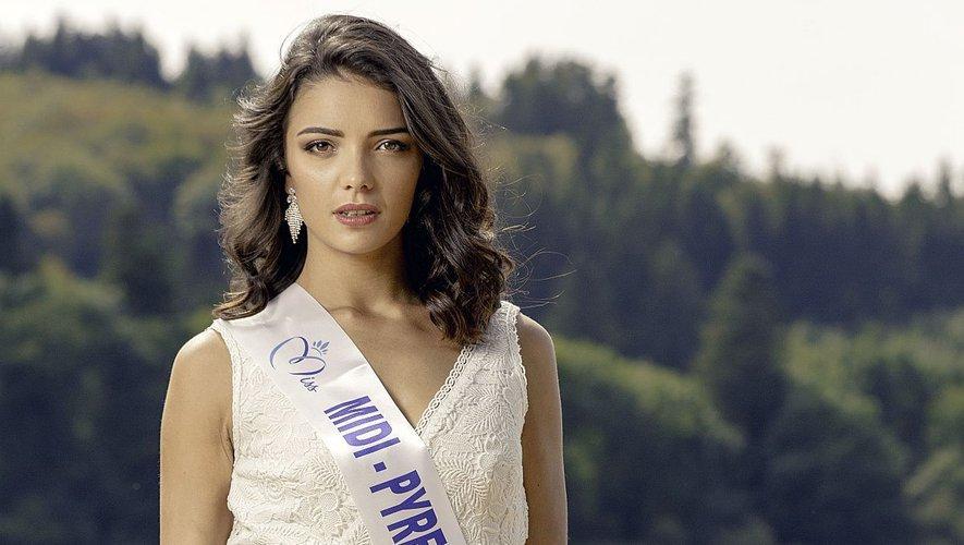 Andréa Magalhaes, Miss Midi-Pyrénées.