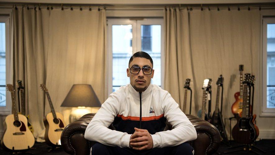 Le rappeur Walid Georgey alias Maes.