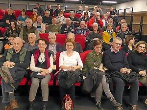 De nombreux Luco-primaubois ont participé à cette réunion d'information.