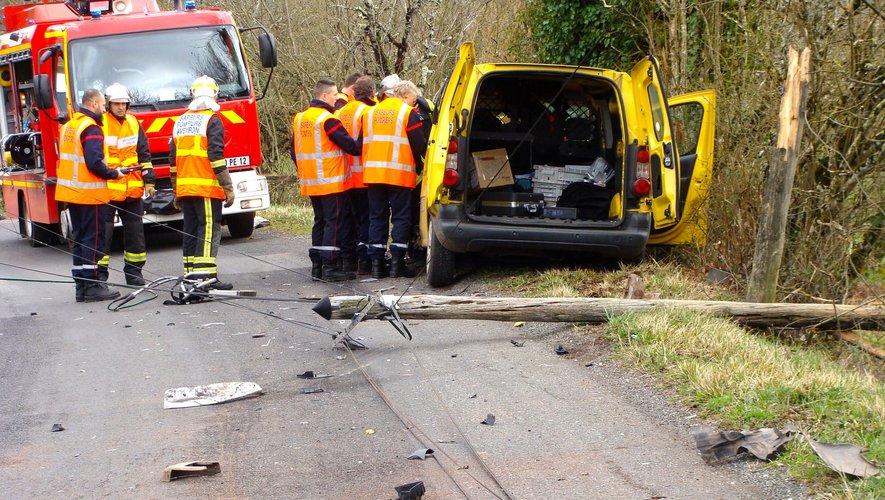 Un blessé est à déplorer dans chacun des véhicules ; il s'agit de deux hommes de 43 et 23 ans