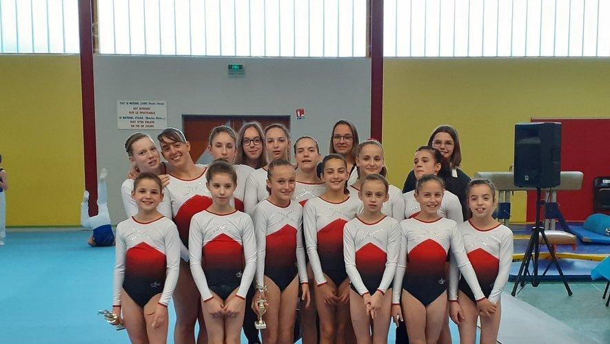Une très bonne entame de saison pour ces jeunes filles qui continuent donc  leur chemin vers la qualification aux championnats de France.