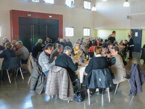 Les adhérents du club des Aînés se sont retrouvés autour d'une bonne table