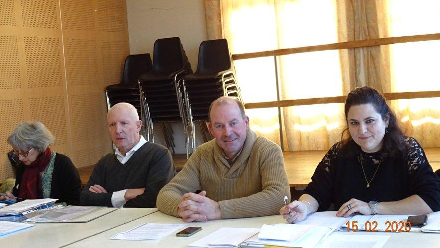Viviane, Jean-Pierre, André At et Marie-Pierre.