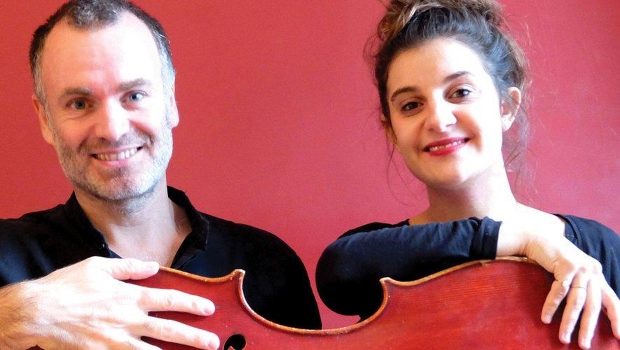 Gilles Bizouerme et Elsa Guiet.