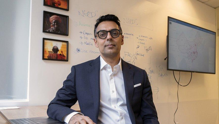 Dr.Kamran Khan, le fondateur et PDG de BlueDot