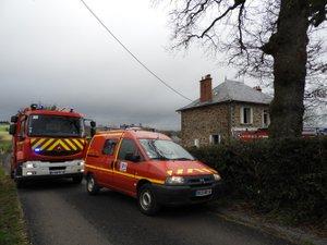 Les pompiers sont rapidement intervenus sur le lieu de l'incendie.