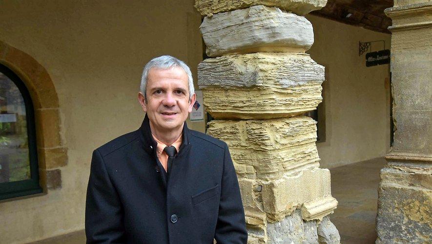 Marc Bories, maire sortant.