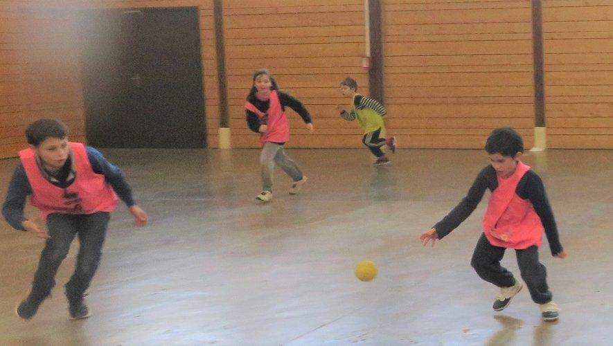 Les enfants ont apprécié cette pratique.