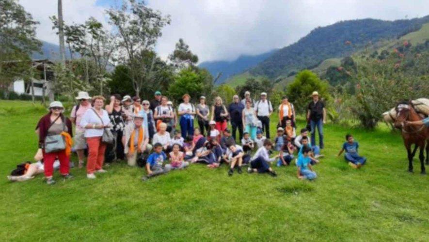 Les voyageurs du Rouergue en Colombie