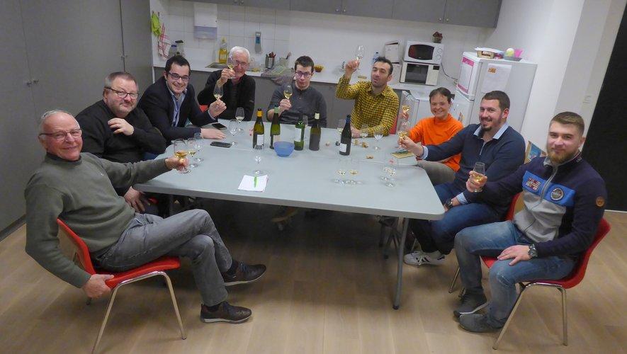 Les participants au dernier atelier autour de Philippe Rousseau.