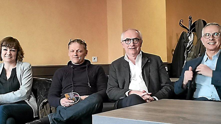 Des idées ont été présentées, hier matin, à quatre des cinq candidats à la mairie de Millau.