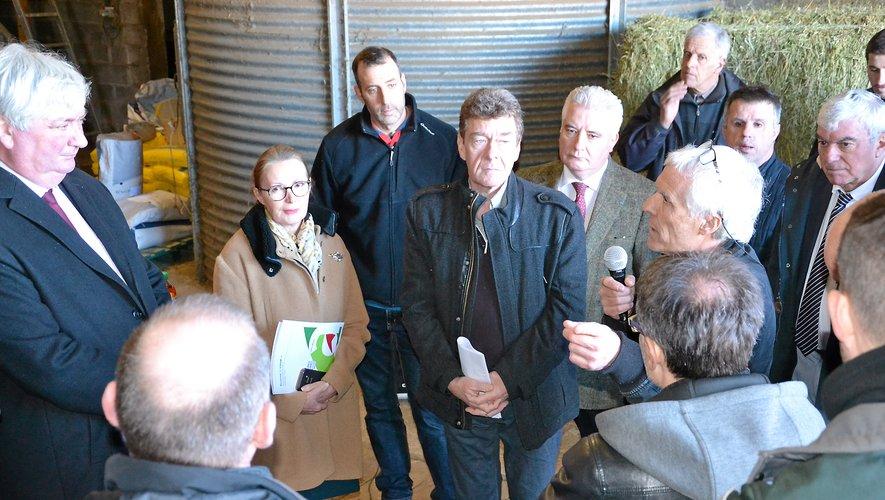 Jean-Paul Scoquart, éleveur, a notamment abordé la question des tirs autorisés par les agriculteurs.