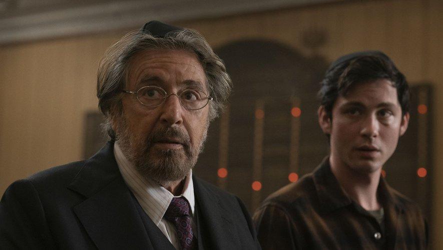 """Al Pacino incarne Meyer Offerman, le chef d'un groupe secret de chasseurs de nazis aux côtés de Logan Lerman dans la prochaine série d'Amazon Prime Video, """"Hunters""""."""