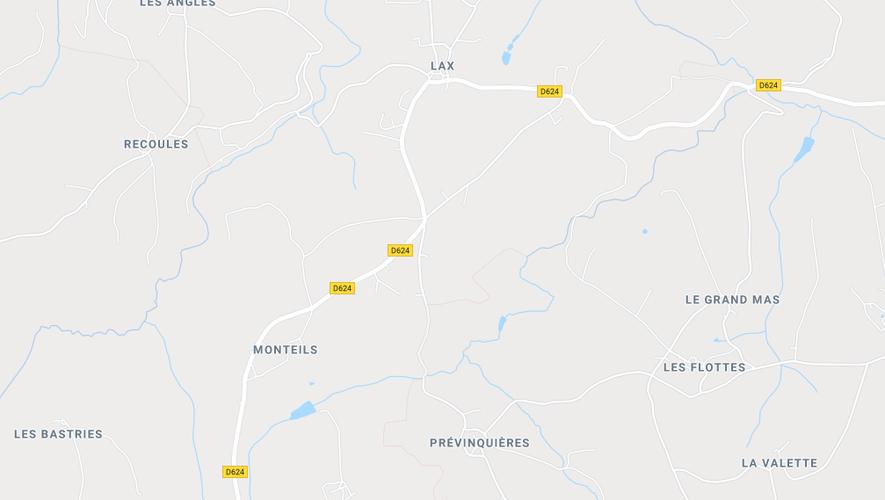 L'accident s'est produit dans un bois entre Le Lac et Lax, commune de Baraqueville.