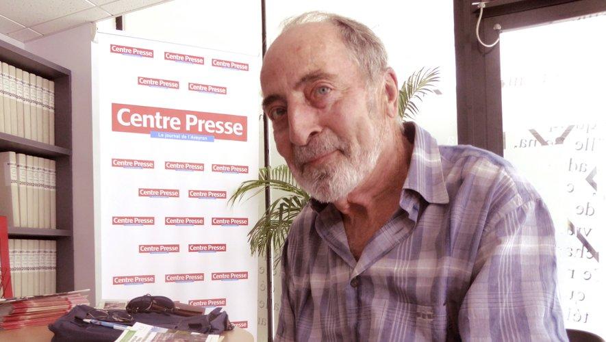 Michel Longuet, président du comité départemental de randonnée pédestre.